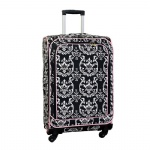 Trolley Luggage, Polyester Suitcase, Softside Roller Suit Case, Fabric Rolling Maleta, Wheeled Spinner Cabin Case, Carry On Voyage Bagages Baggage Koffer